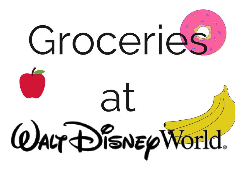 groceries at disney world
