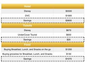 Doing Disney on a Budget