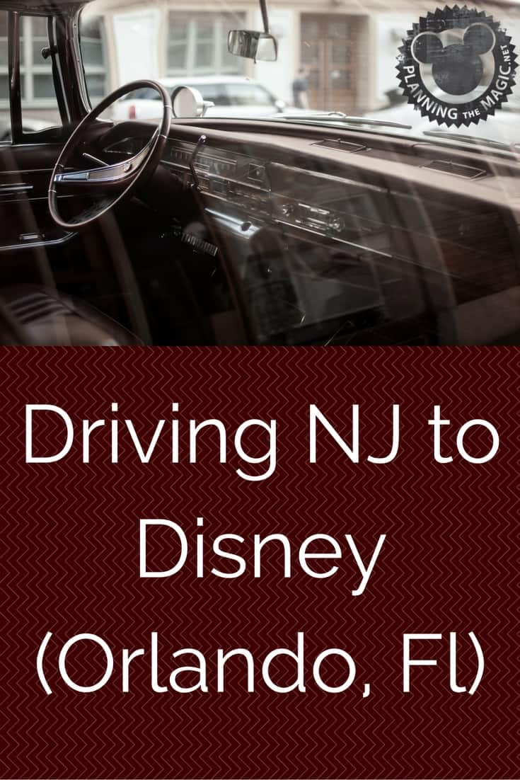Driving To Florida from NJ