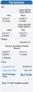 disney world affordable packages