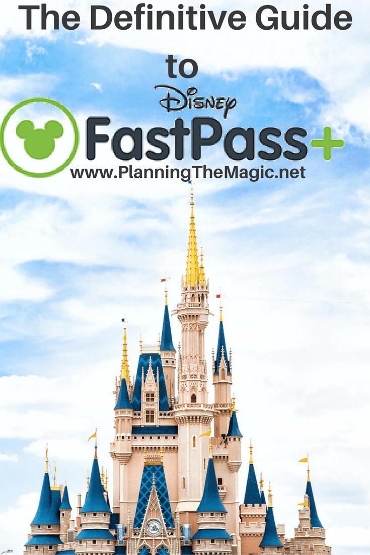 Disney's FastPass+ 2017