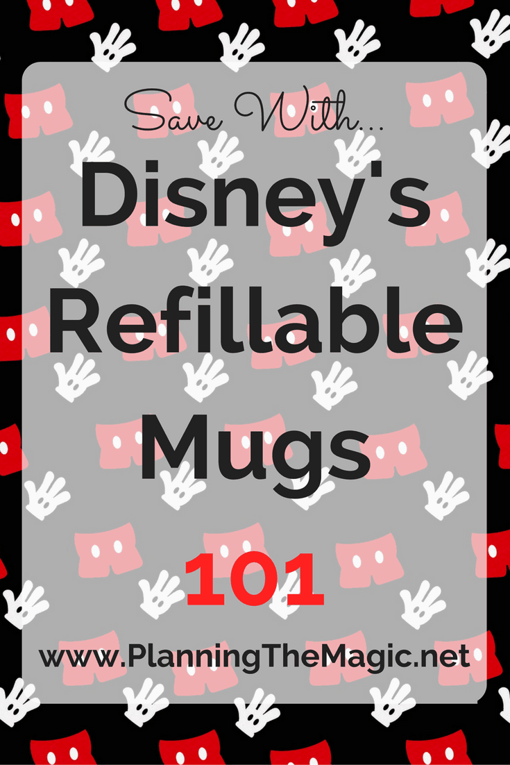 Disney's Refillable Mug 2017