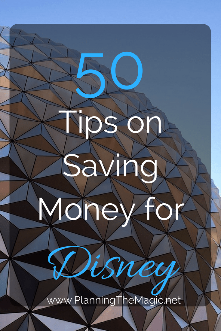 how to save for disney