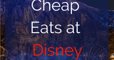 eating at disney on a budget