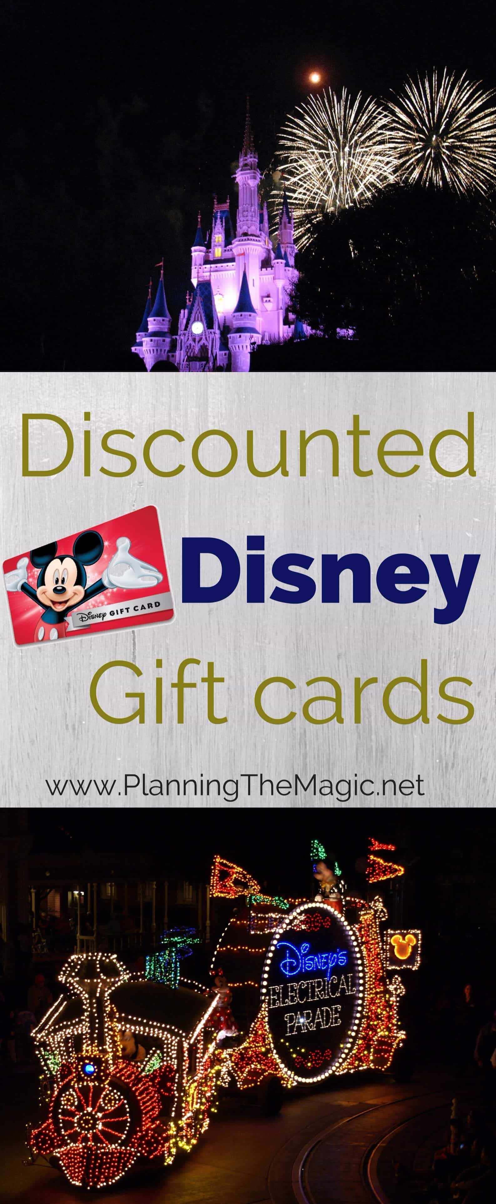 Discounted Disney Gift Cards 2020 Tips You Need To Know Planning The Magic