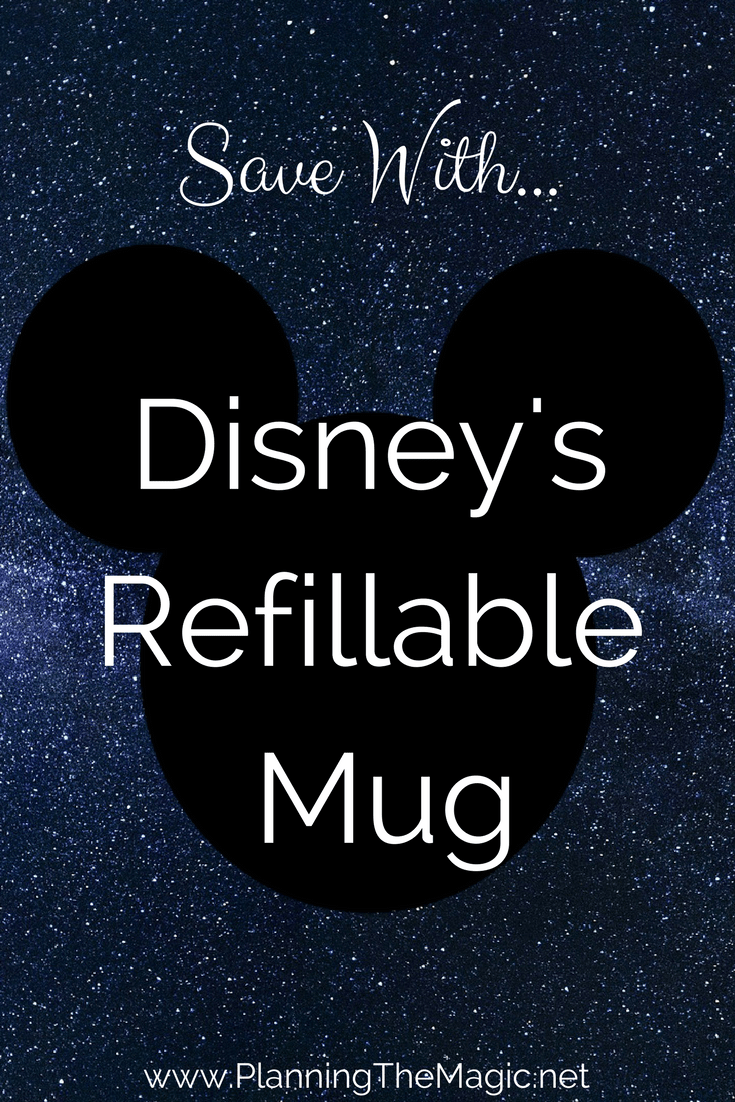 Disney's Refillable Mug 2018