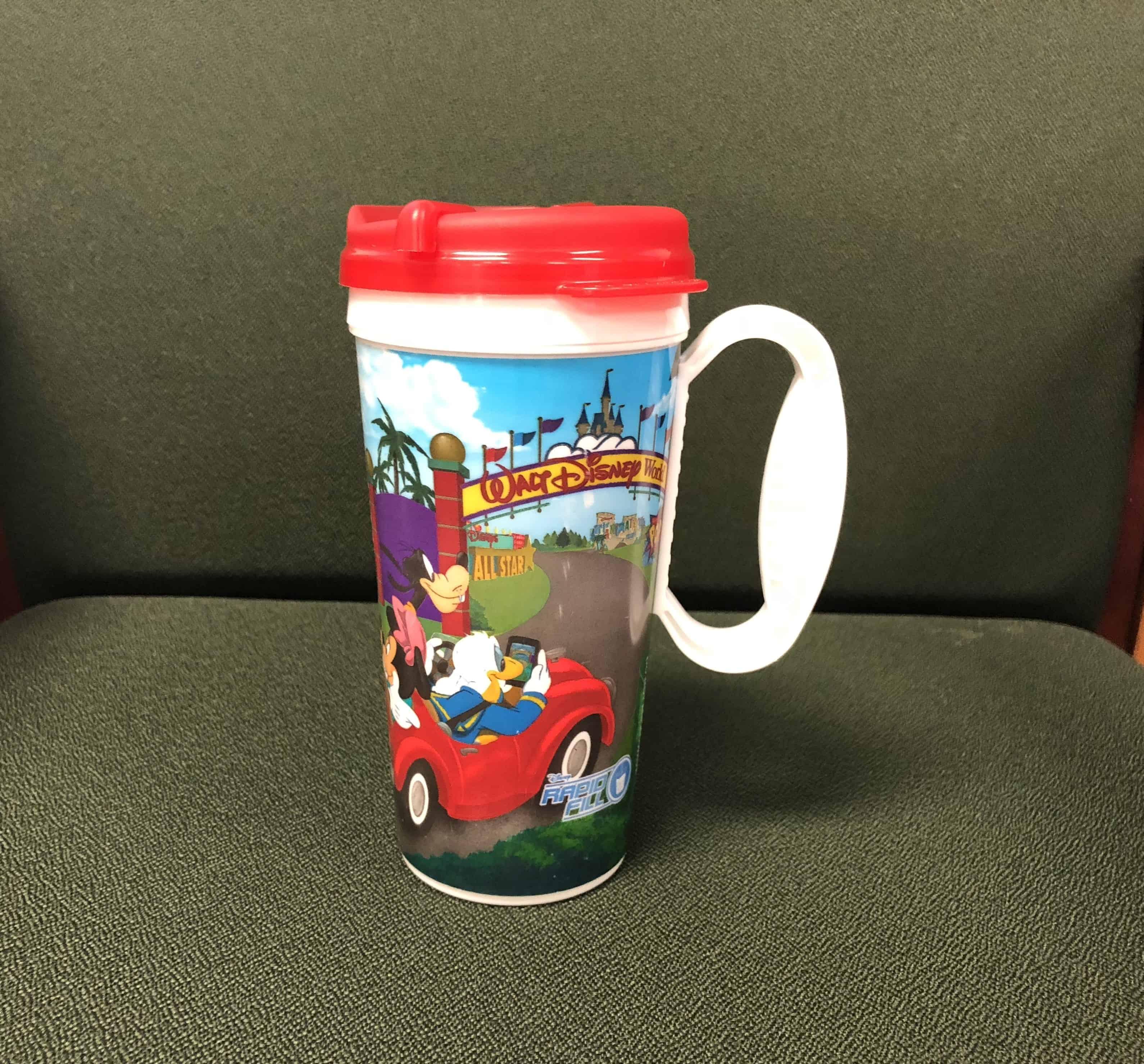 disney refillable mug 2018