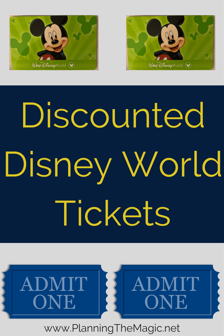 Discounted Disney World Tickets 2018