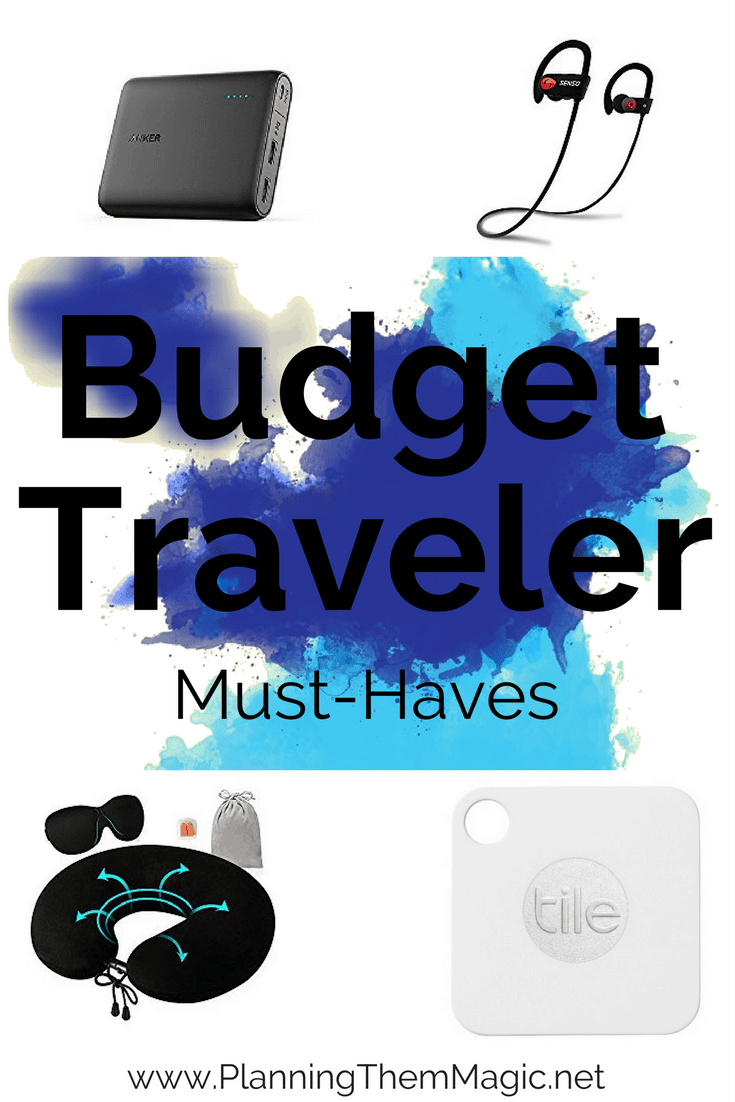 budget traveler must-haves