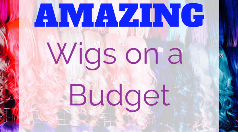 wigs on a budget