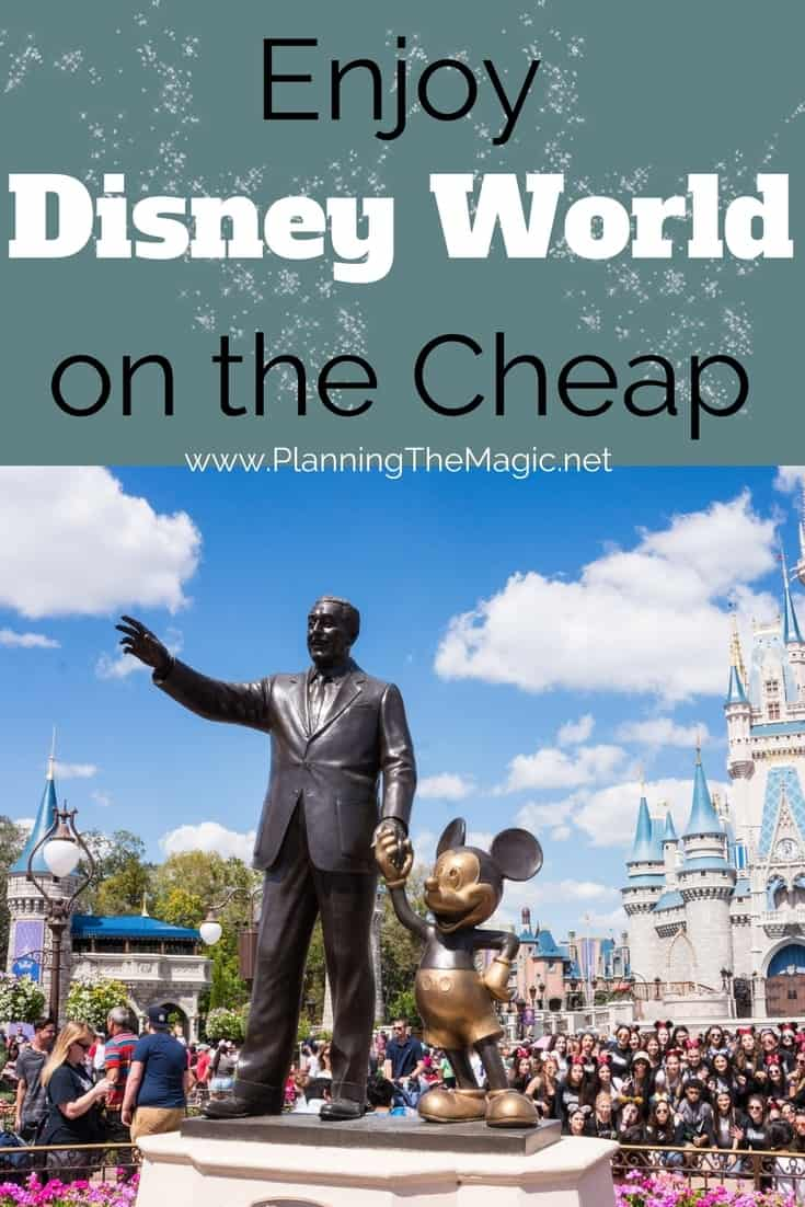 enjoy disney on the cheap