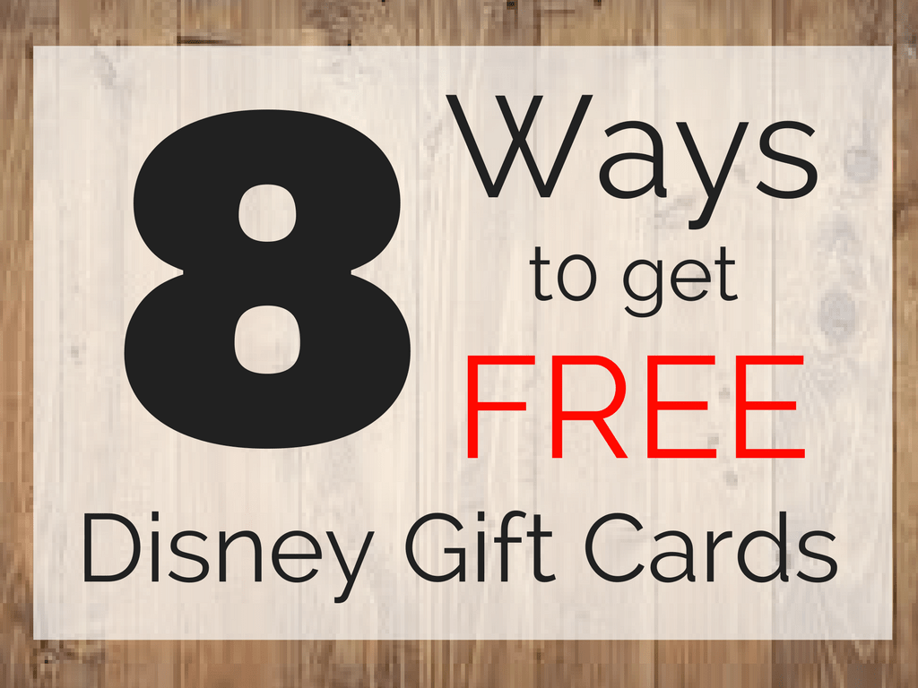free disney gift cards