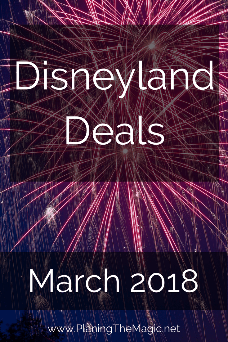 current disneyland deals