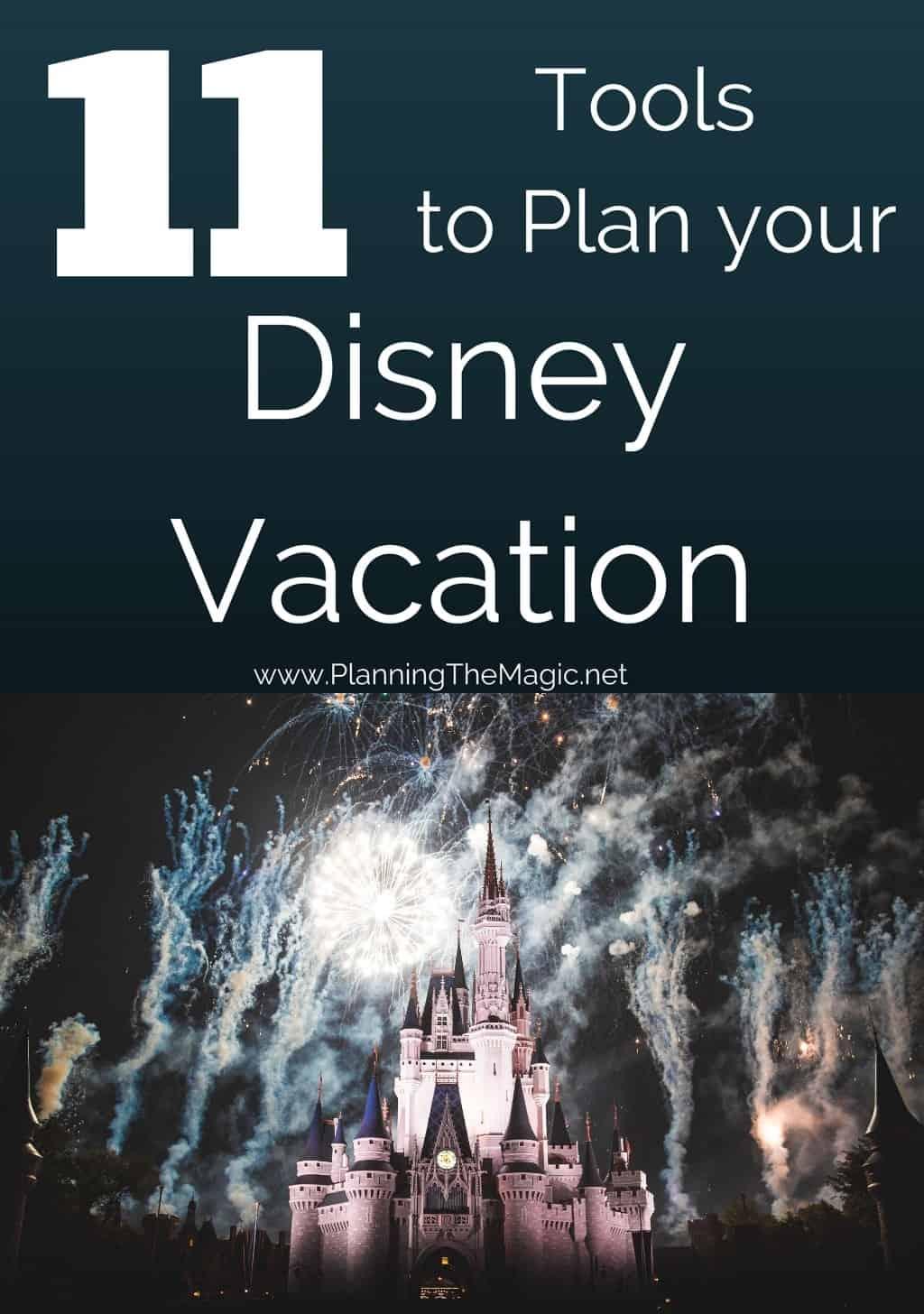 disney vacation planning tools