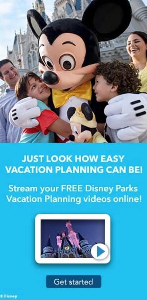 Free Disney Vacation Planning Videos