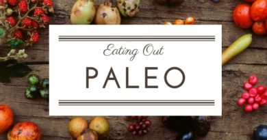 eating out paleo