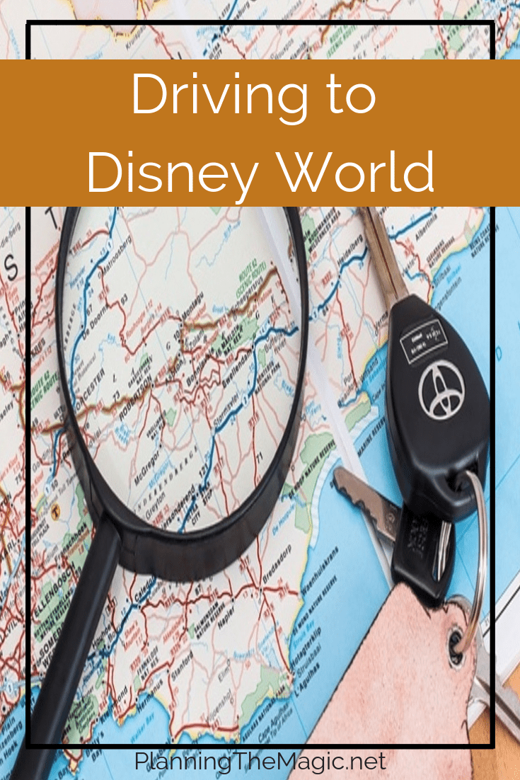Driving to Disney World