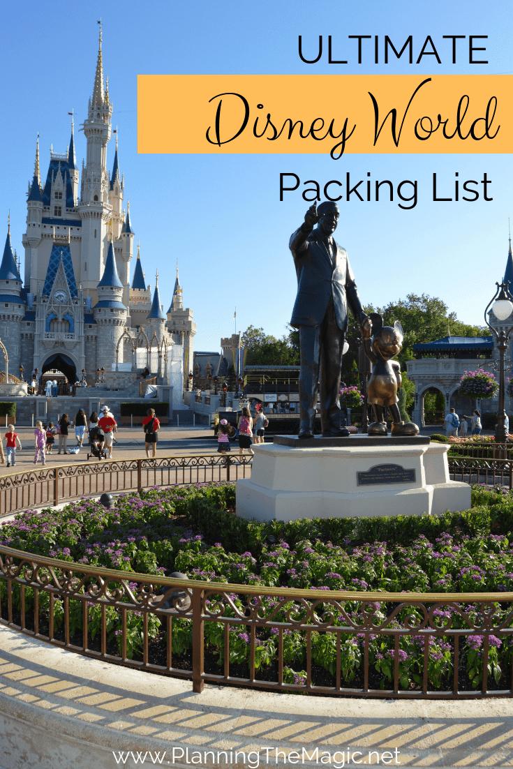 Ultimate Disney Packing List