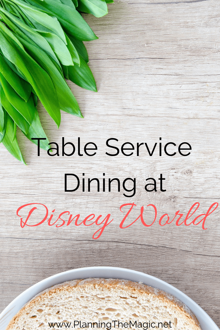 best table service at disney world