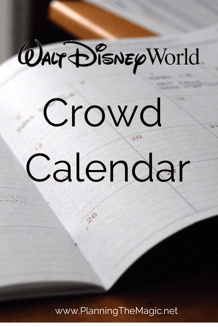 Walt disney world crowd Calendar