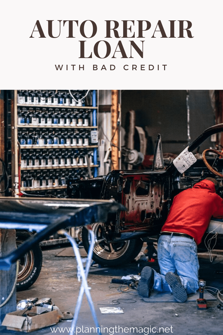 auto repair loan with bad credit