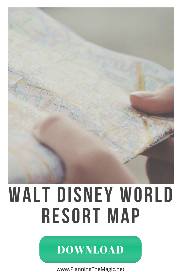 Walt Disney World Resort Map