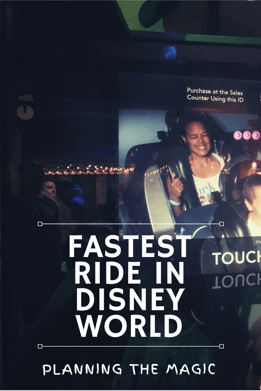 fastest ride in disney world
