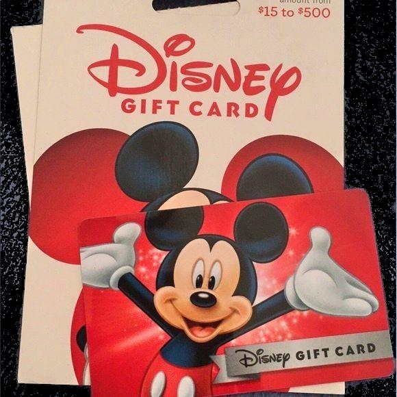 disney gift card combine
