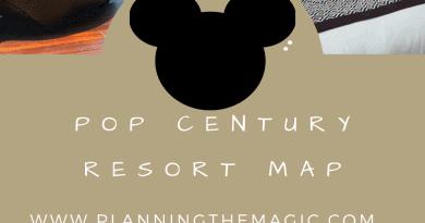 pop century resort map